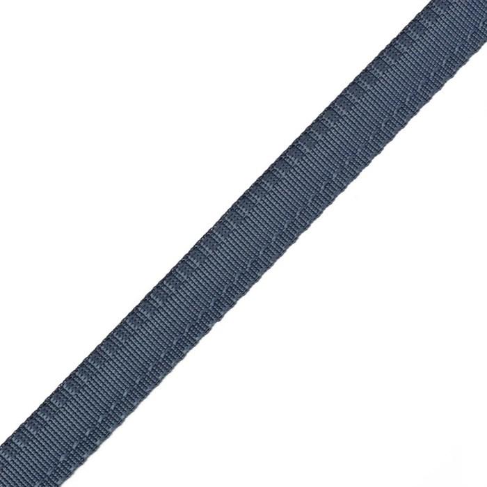 Тесьма брючная (полиэфирная) арт.4316 шир.15мм цв.т.синий  А - фото 157862