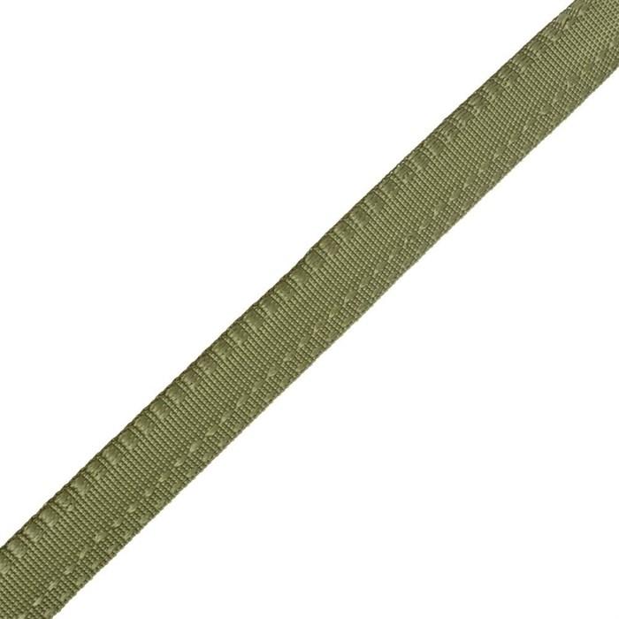 Тесьма брючная (полиэфирная) арт.4316 шир.15мм цв.хаки  А - фото 158576