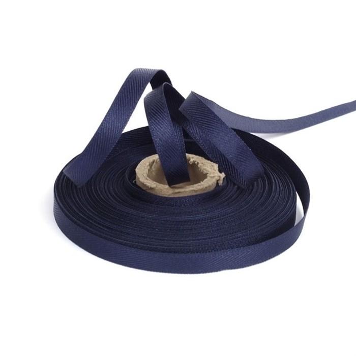 Лента для вешалок арт.2642 цв. 13 т.синий фас.25м - фото 167130