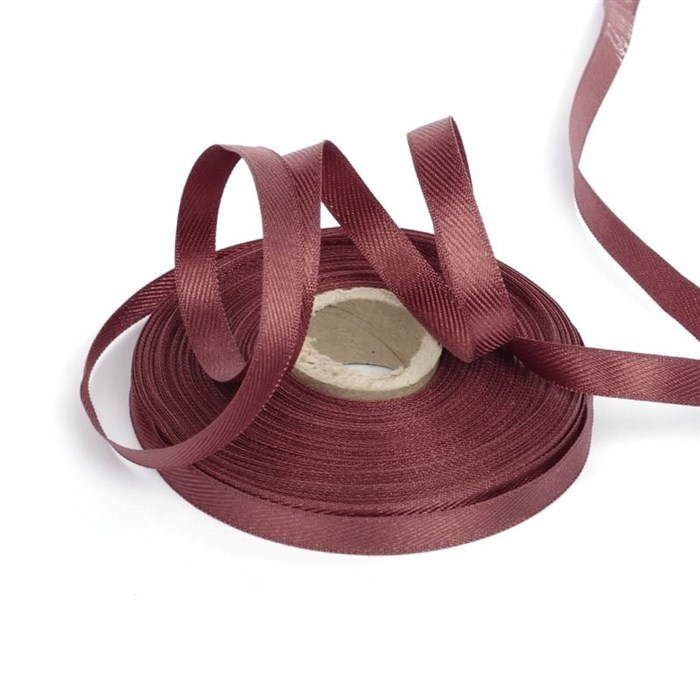 Лента для вешалок арт.2642 цв. 5 коричневый фас.25м - фото 167135