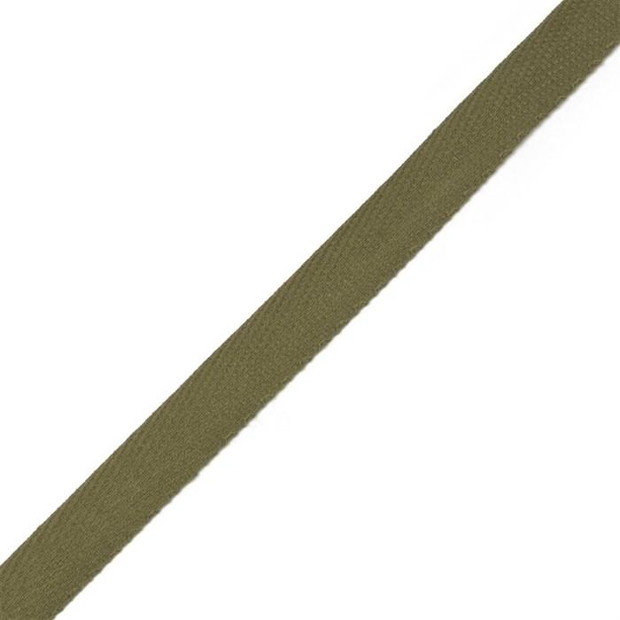 Тесьма киперная 2с-253к , 13 мм , цвет 113 оливковый уп.50м - фото 175121