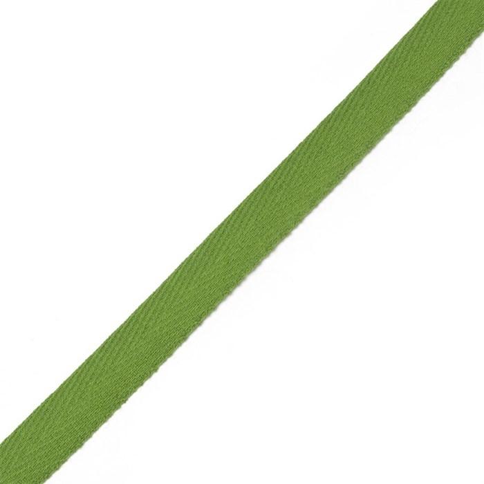 Тесьма киперная 2с-253к , 13 мм , цвет зеленый - фото 175622