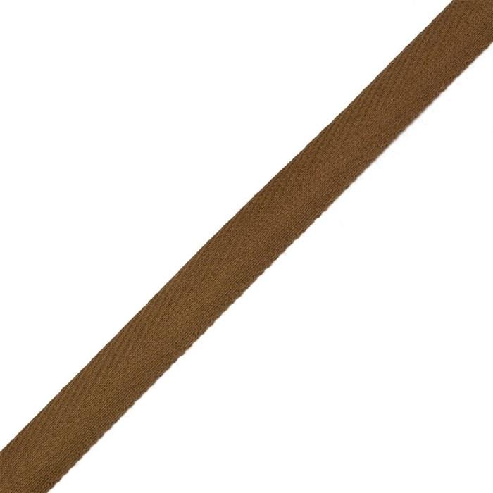 Тесьма киперная 2с-253к , 13 мм , цвет коричневый - фото 175623