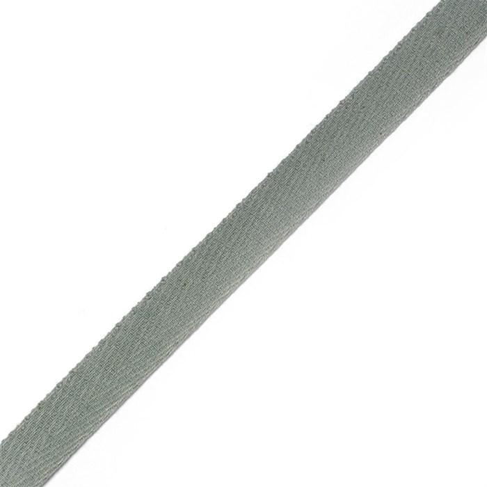 Тесьма киперная 2с-253к , 13 мм , цвет серый - фото 175625