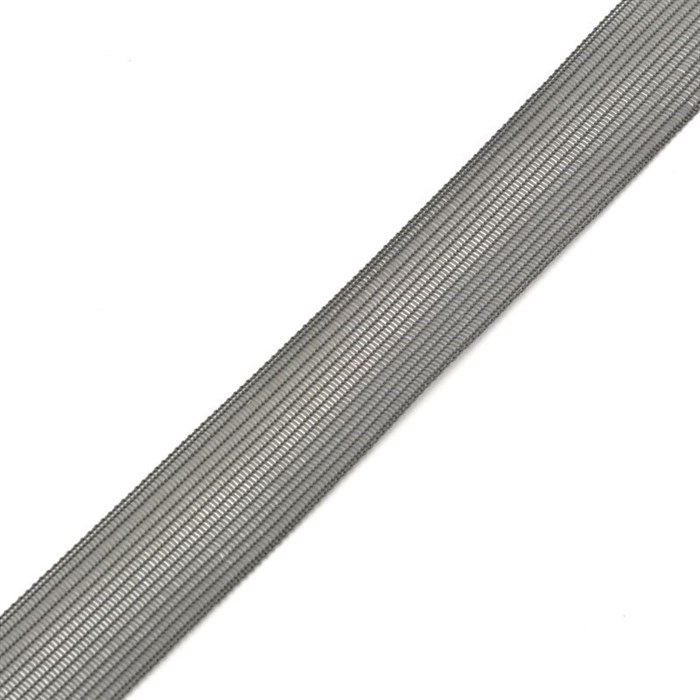Тесьма вязаная окантовочная, 22мм, арт.4С-516/22 ,цв. 41 серый - фото 176146