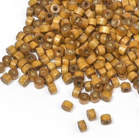 Бусины деревянные MAGIC HOBBY арт.MG-B 474 цв.2 уп.40гр 4мм, in d-2 мм 1490+/-3 шт. - фото 177283