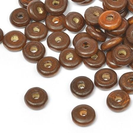 Бусины деревянные MAGIC HOBBY арт.MG-B 482 цв.1 уп.40гр (210+/-3 шт), 4х10мм, in d-2 мм - фото 177322