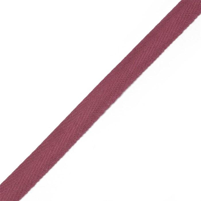 Тесьма киперная 2с-253к , 13 мм , цвет 008 бордовый - фото 181565