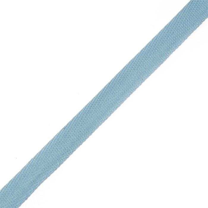 Тесьма киперная 2с-253к , 13 мм , цвет 001 голубой - фото 181566