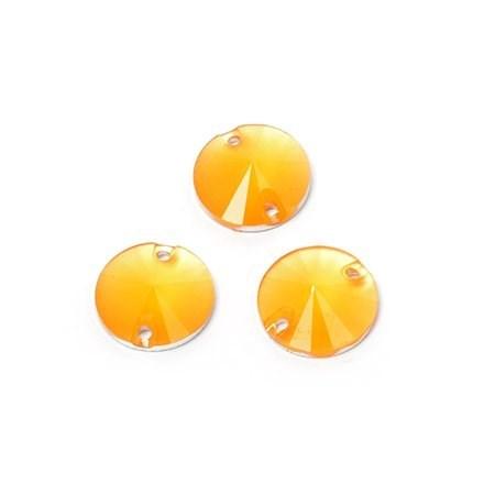 Стразы пришивные акриловые (Resin) Tesoro Crystal арт.TS.ED15.1.04 цв.4 12 мм уп.10шт - фото 181858