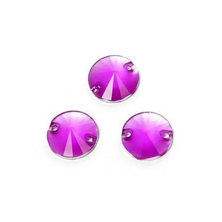 Стразы пришивные акриловые (Resin) Tesoro Crystal арт.TS.ED15.1.06 цв.6 12 мм уп.10шт - фото 181860