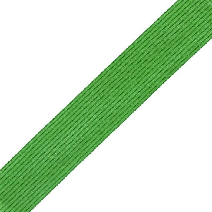 Тесьма вязаная окантовочная, 22мм, арт.4С-516/22 ,цв. 49 ярк. зеленая - фото 185158