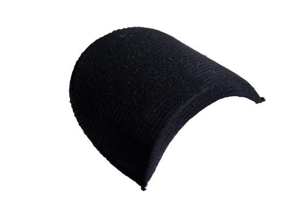 Подплечики обтянутые втачные В16 цв.черный упак.10 пар - фото 185946