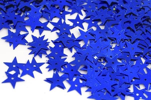 Пайетки россыпью Ideal  арт.ТВY-FLK172  13мм  цв.005 синий уп.50гр - фото 194625