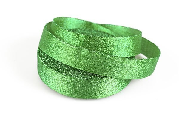 Подарочная лента Парча арт.с3431г17 шир.19мм цв. зеленый уп.25м - фото 197357