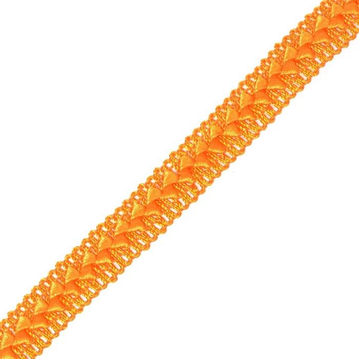 Тесьма самоса арт.ШМ.12-А шир.20мм цв. оранжевый  А - фото 209215