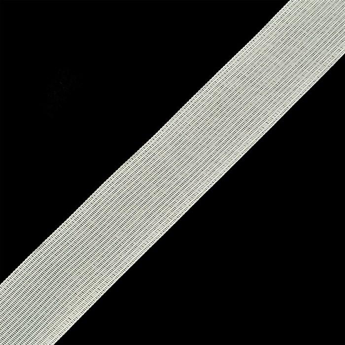 Тесьма вязаная окантовочная  32мм, арт.32С-32/32  плотность3.2гр/м  цв.белый - фото 212563