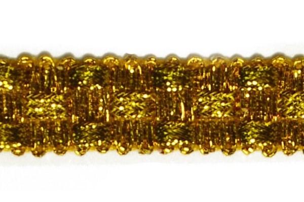 Тесьма отделочная  арт.8286  шир. 15 мм  цв. золото  уп.18,28м - фото 214716