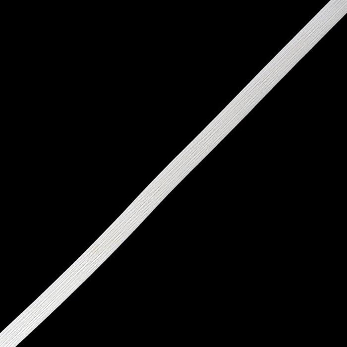 Резинка вязаная арт.ТВ-10мм цв.белый упак.100м - фото 219442