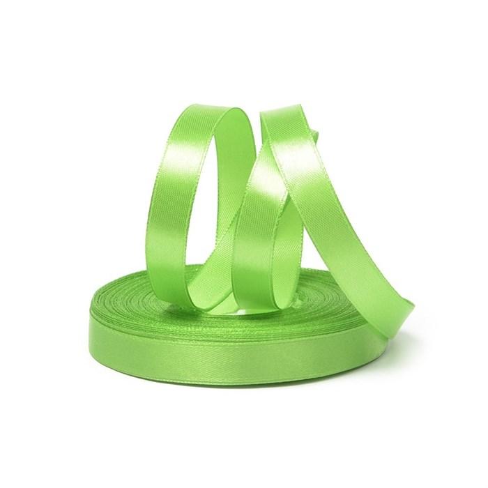 Лента атласная 1/2' (12мм) цв.3038 зеленый IDEAL уп.27,4 м - фото 229004