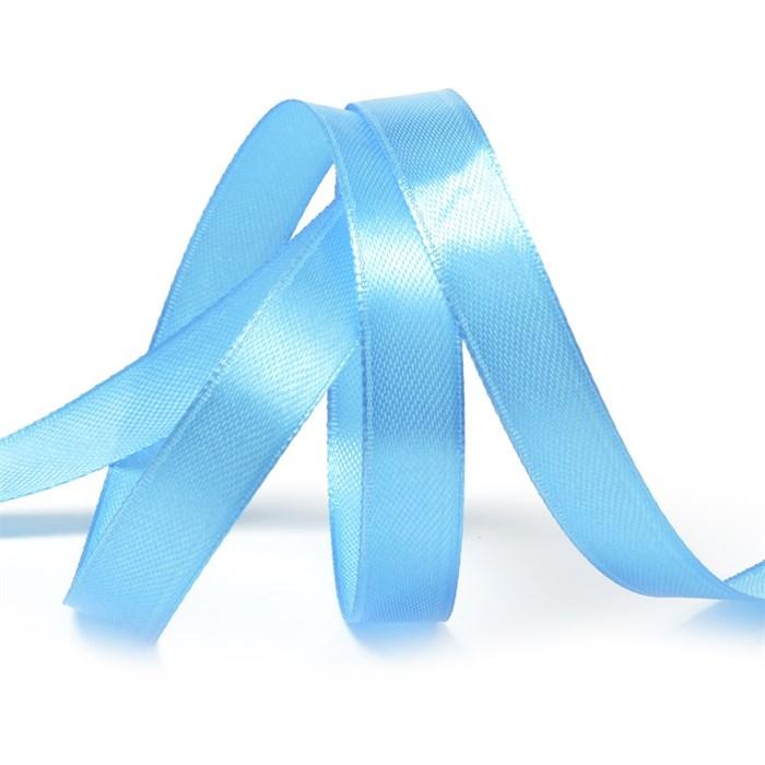 Лента атласная 1/2' (12мм) цв.3157 яр.голубой IDEAL уп.27,4 м - фото 229339
