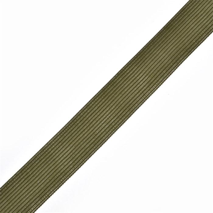 Тесьма вязаная окантовочная, 22мм, арт.4С-516/22 ,цв.158 хаки - фото 242677