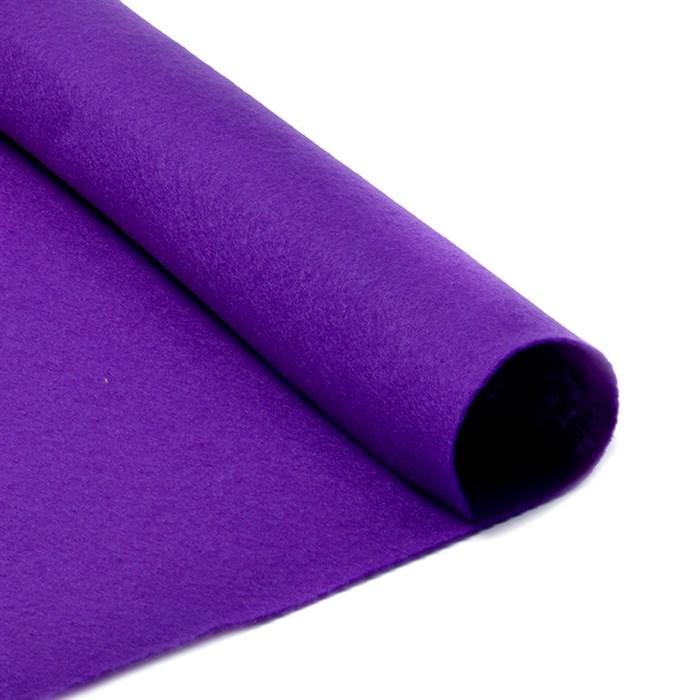 Фетр листовой мягкий IDEAL 1мм 20х30см арт.FLT-S1 уп.10 листов цв.620 фиолетовый - фото 243935