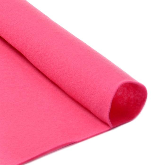 Фетр листовой мягкий IDEAL 1мм 20х30см арт.FLT-S1 уп.10 листов цв.614 розовый - фото 243937