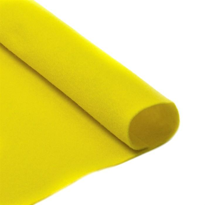 Фетр листовой мягкий IDEAL 1мм 20х30см арт.FLT-S1 уп.10 листов цв.633 лимон - фото 243943