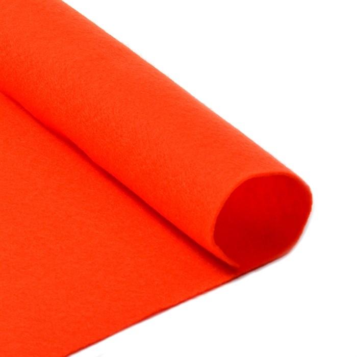 Фетр листовой мягкий IDEAL 1мм 20х30см арт.FLT-S1 уп.10 листов цв.628 оранжевый - фото 243944