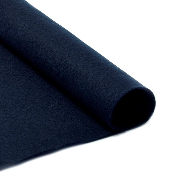 Фетр листовой мягкий IDEAL 1мм 20х30см арт.FLT-S1 уп.10 листов цв.655 черный - фото 243950