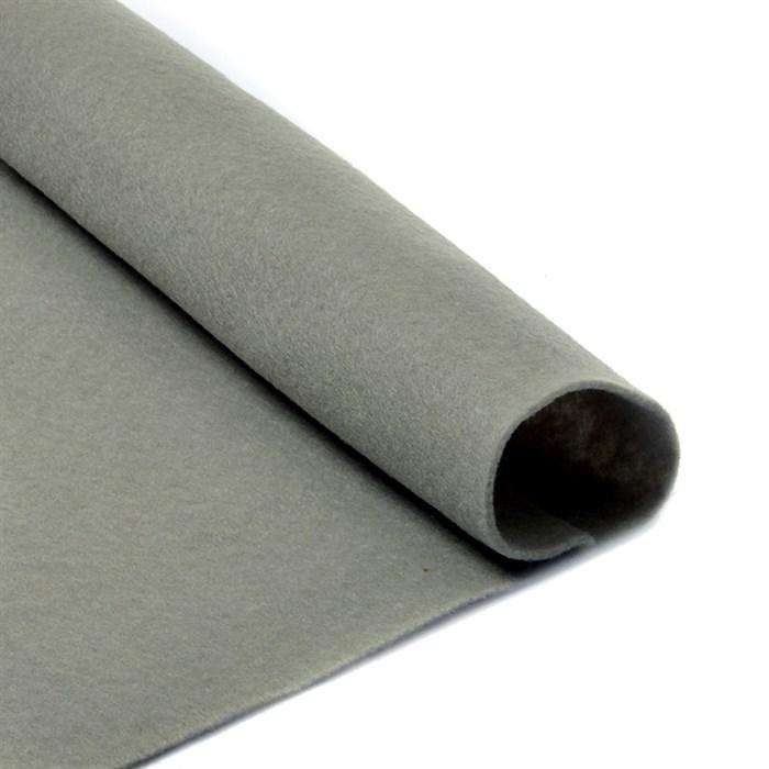 Фетр листовой мягкий IDEAL 1мм 20х30см арт.FLT-S1 уп.10 листов цв.648 серый - фото 243951
