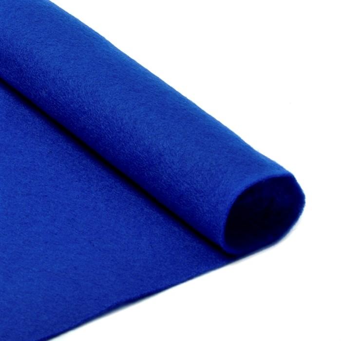 Фетр листовой мягкий IDEAL 1мм 20х30см арт.FLT-S1 уп.10 листов цв.679 синий - фото 243953