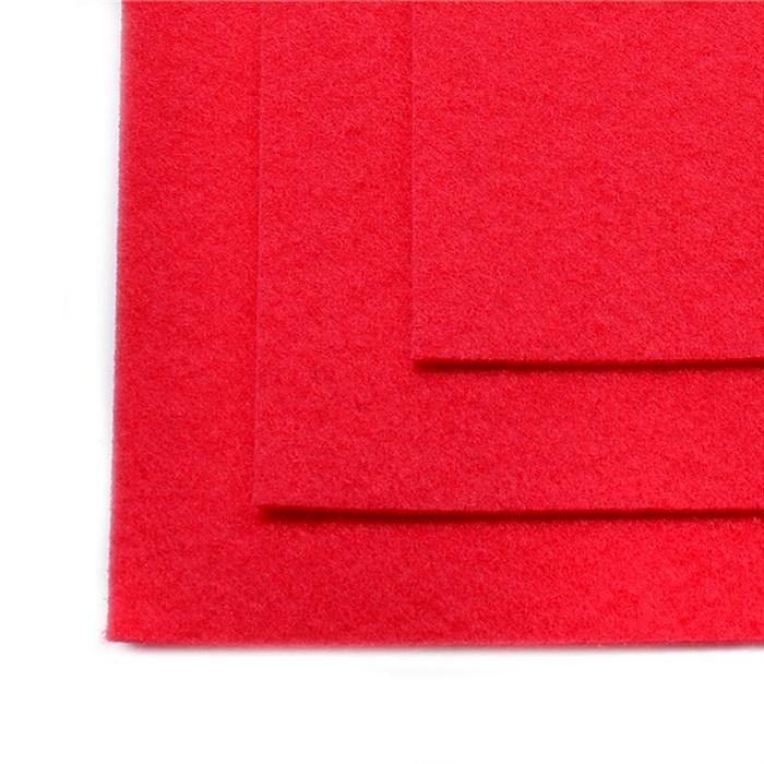Фетр листовой жесткий IDEAL 1мм 20х30см арт.FLT-H1 уп.10 листов цв.610 красный - фото 243967