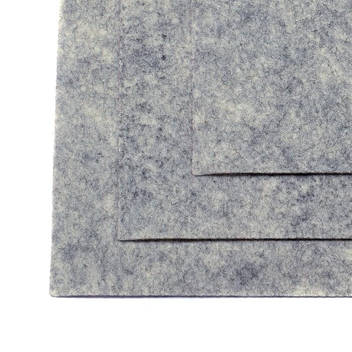 Фетр листовой жесткий IDEAL 1мм 20х30см арт.FLT-H1 уп.10 листов цв.657 мрамор - фото 243969