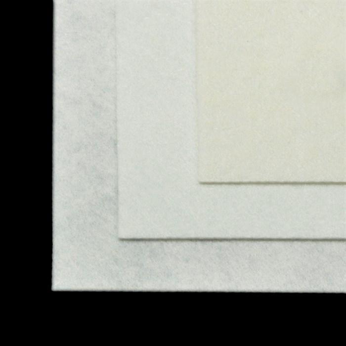 Фетр листовой жесткий IDEAL 1мм 20х30см арт.FLT-H1 уп.10 листов цв.660 белый - фото 243979