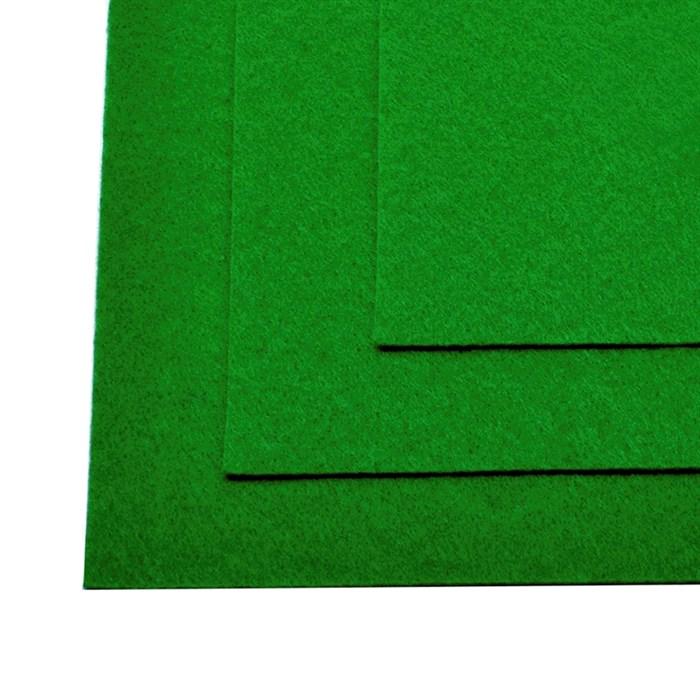 Фетр листовой жесткий IDEAL 1мм 20х30см арт.FLT-H1 уп.10 листов цв.705 зеленый - фото 243992