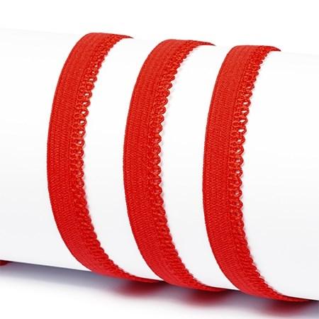 Резинка TBY бельевая 10мм арт.RB03162 цв.F162 красный уп.100м - фото 245018