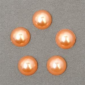 Полужемчужины MAGIC 4 HOBBY перламутр 8 мм цв.H42 (светло-коричневый) уп.20г - фото 245617