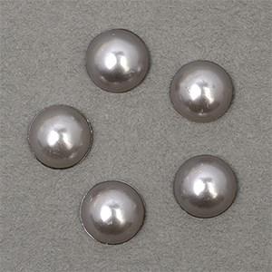 Полужемчужины MAGIC 4 HOBBY перламутр 8 мм цв.H31 (серый) уп.20г - фото 245619
