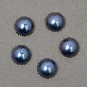 Полужемчужины MAGIC 4 HOBBY перламутр 8 мм цв.H24 (темно-синий) уп.20г - фото 245620
