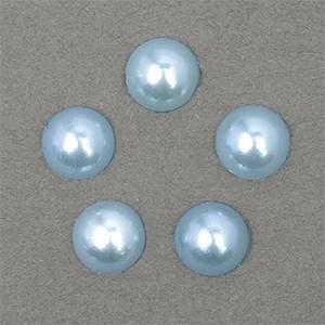 Полужемчужины MAGIC 4 HOBBY перламутр 8 мм цв.H06 (голубой) уп.20г - фото 245623
