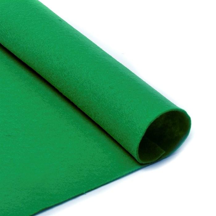 Фетр в рулоне мягкий IDEAL 1мм 100см арт.FLT-S2 цв.705 зеленый (отрез 1 метр) - фото 245871