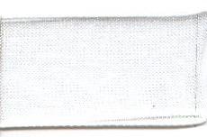 Лента капрон (органза) IDEAL шир.12мм цв.1001 белый уп.27,4 м - фото 246120