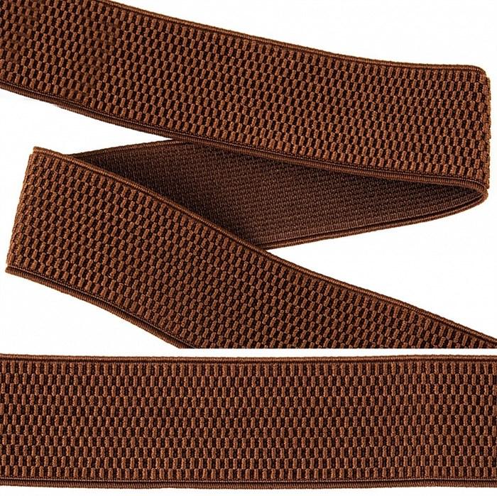 Резинка TBY помочная Ультра арт.RD.40299 шир.40мм цв.299 коричневый рул.25м - фото 246259