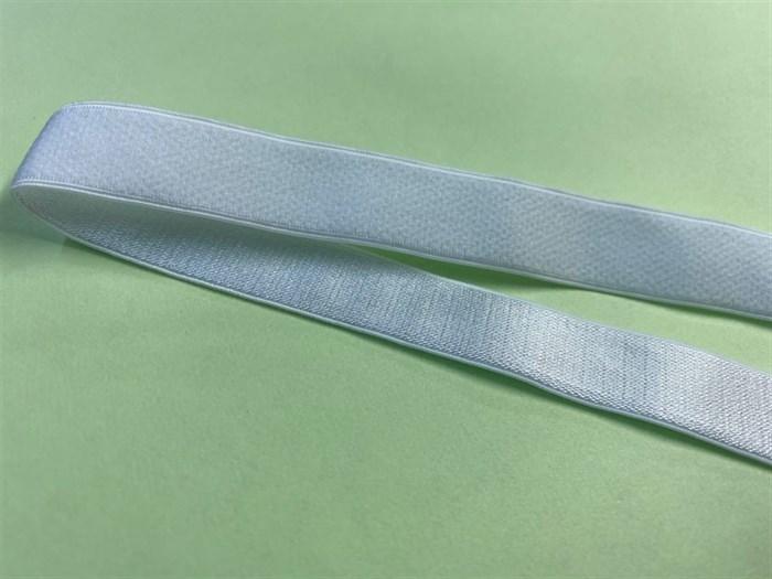 Резинка для бретелей 15мм арт.KRB1510W цв.белый уп.10м - фото 246593