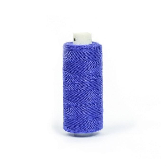 Нитки бытовые IDEAL 40/2 366м 100% п/э, цв.257 фиолетовый - фото 246794