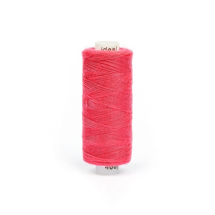 Нитки бытовые IDEAL 40/2 366м 100% п/э, цв.176 розовый - фото 246800