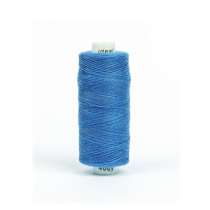 Нитки бытовые IDEAL 40/2 366м 100% п/э, цв.246 синий - фото 246808