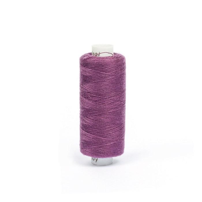 Нитки бытовые IDEAL 40/2 366м 100% п/э, цв.199 фиолетовый - фото 246846
